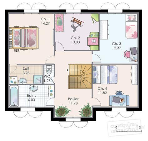 plan maison 7 chambres petit fauteuil de chambre 7 plan maison a etage meuble