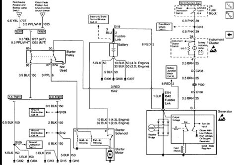 2005 Chevrolet Trailblazer Wiring Schematic by A 1997 Chevy Blazer S10 4x4 No Crank No Start Shop