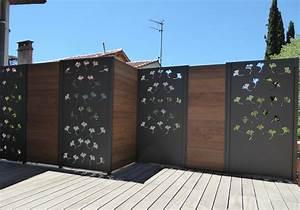 Brise Vue Opaque : brise vue design brise vent balcon closdestreilles ~ Premium-room.com Idées de Décoration