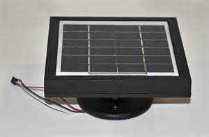 ez replacement solar panel black