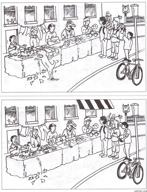 Spot The Difference Printables For Adults Spot The