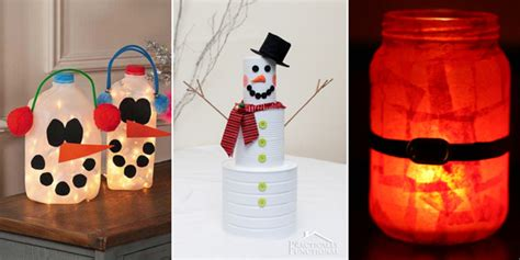amazing trash  treasure christmas crafts