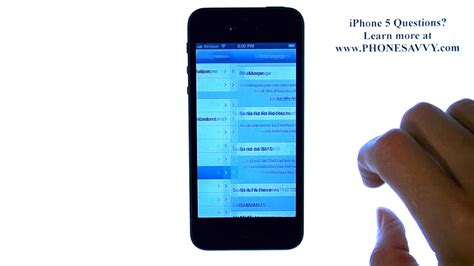 how to enable messaging on iphone 5 apple iphone 5 ios 6 how do i enable read receipts for