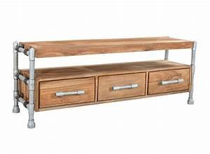 Möbel Online Bestellen Günstig : industrial lowboard sideboard aus rohren moebeldeal ~ Pilothousefishingboats.com Haus und Dekorationen