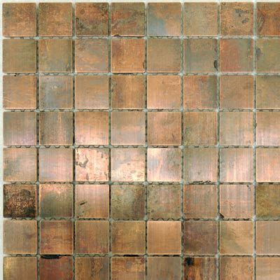 copper tiles for kitchen backsplash copper tile for an accent in the backsplash 8339