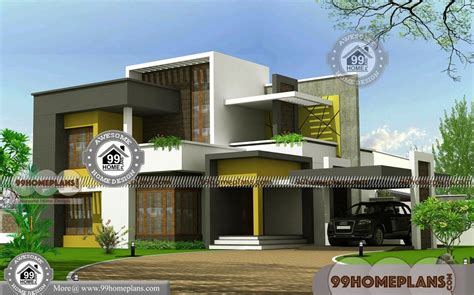 contemporary house floor plans 2 modern house plans with contemporary flat roof