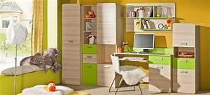 Schrankwand Mit Integriertem Schreibtisch : wohnwand anbauwand schrankwand kinderzimmer schreibtisch ~ Watch28wear.com Haus und Dekorationen