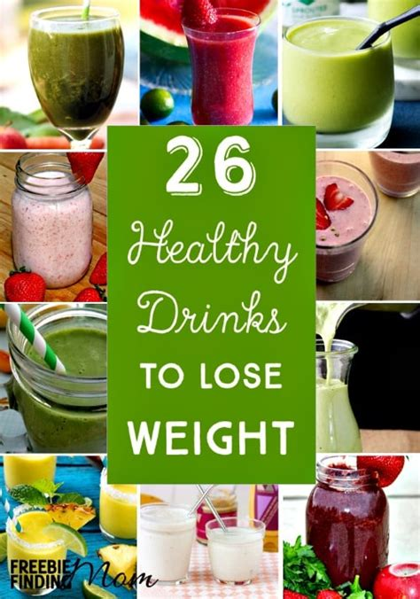 healthy drinks  lose weight