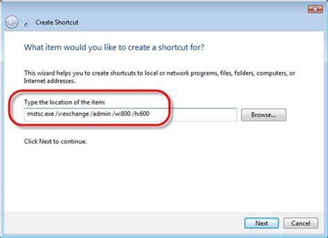 configuring windows remote desktop   command
