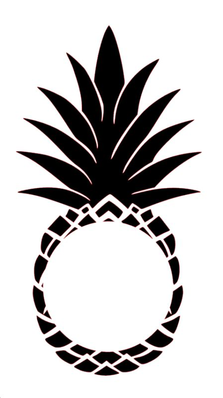 clipart pineapple monogram clipart pineapple monogram transparent