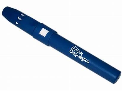 Device Lancet Lancing Simple Diagnostics Devices