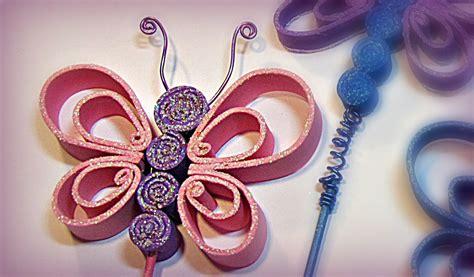 como hacer mariposas de goma eva foami fomi youtube
