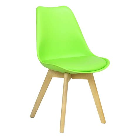 caden plastic dining chair lime green shipped within 24