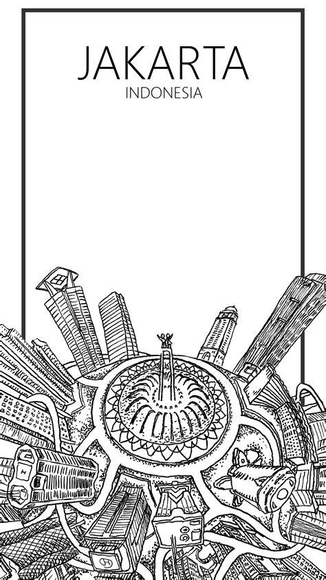 jakarta indonesia prints jakarta globe map art hand