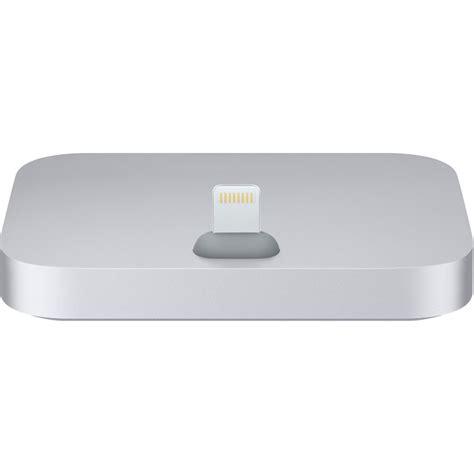 iphone lighting dock apple iphone lightning dock space gray ml8h2am a b h photo