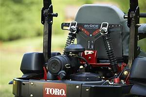 Toro Introduces New Myride Suspension System On Select Z Master Mowers