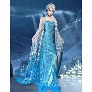 Dguisement Elsa La Reines Des Neiges Deguisement Femme