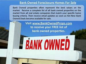 Complete List of All AV Bank Owned Properties