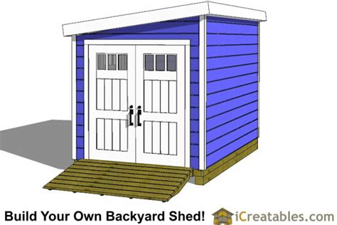 Garden Shed Plans 8x12 by 8x12 Lean To Shed Plans Storage Shed Plans Icreatables