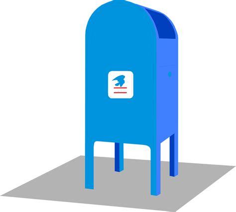 bureau postal post office clipart