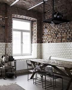 Cuisine Deco Industrielle : 4 astuces pour cr er une d co industrielle shake my blog ~ Carolinahurricanesstore.com Idées de Décoration