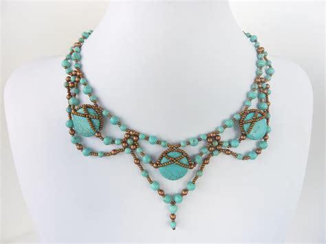 diy jewelry  beading pattern  necklace