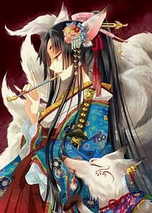 Kitsune anime | Japanese mythology kitsune!! | Pinterest ...