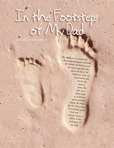 footsteps   dad friend