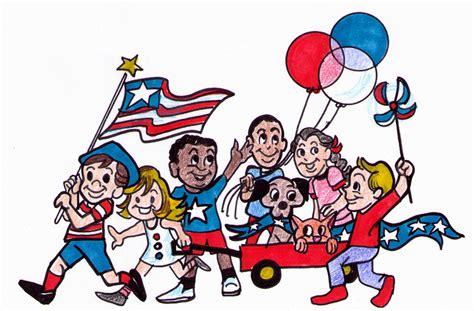 Parade Clipart Fourth Of July Parade Rancocas