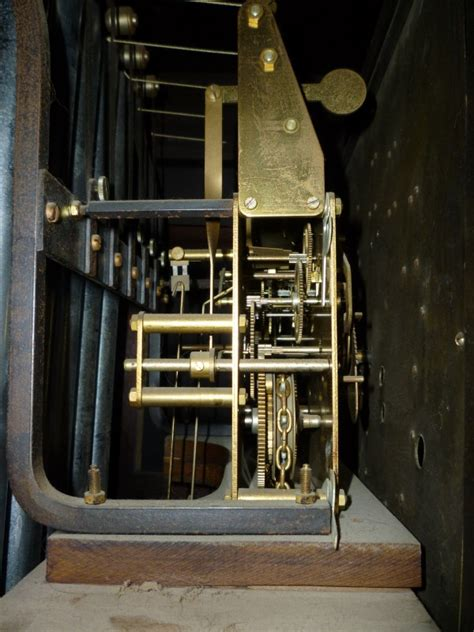 early  grandfather clock  urgos movement