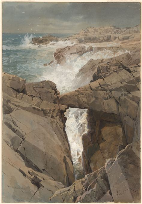 william trost richards spouting rock newport rhode