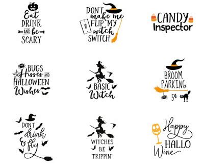 cricut  halloween projects svg files