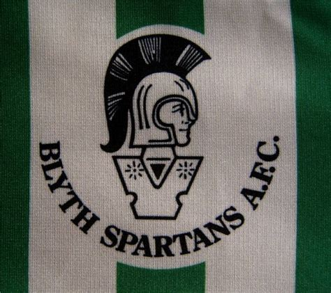 Blyth Spartans Home football shirt 1993 - 1994.