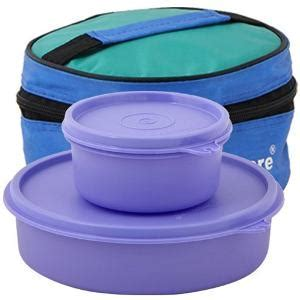 Tupperware Classic Lunch Box with Bag   Lunch Boxes