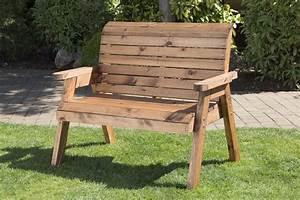 UK Handmade Fully Assembled Heavy Duty Wooden Garden Bench