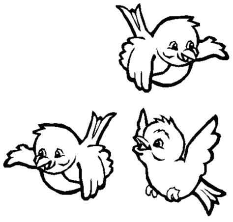 disegni da colorare uccelli disegno di uccellini da colorare per bambini