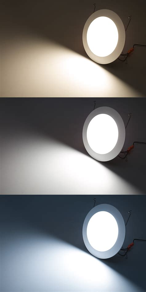 led can light led recessed lighting kit for 6 quot cans retrofit led