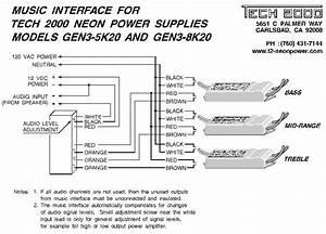 Music Interface Wiring Diagrams