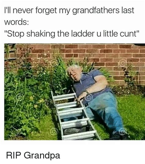 I'll Never Forget My Grandfathers Last Words Stop Shaking