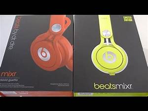 First Look 2013 Beats MIXR Neon Yellow unboxing