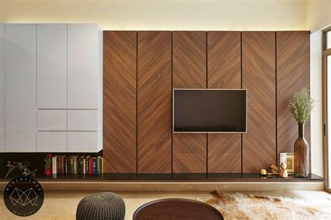 Modern Living Room Wall Ideas by Like The Use Of The Laminate Possible To Adopt For The
