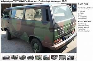 Vw Bus Bulli Kaufen : vw bus bundeswehr r ckl ufer depotfahrzeuge kaufberatung ~ Kayakingforconservation.com Haus und Dekorationen