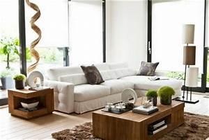 le blog de naturellement deco une ambiance zen pour votre With deco salon bois naturel