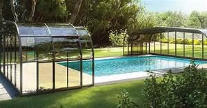 Fabriquer Un Abri De Piscine : manipulation facilit e pour les abris de piscine rideau ~ Zukunftsfamilie.com Idées de Décoration