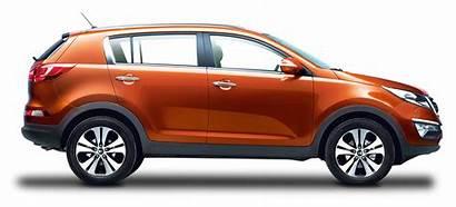 Kia Orange Sportage Transparent Cars Purepng Pngpix