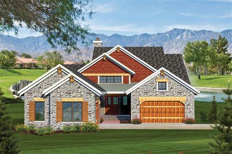2 Bedroom Rustic Ranch Home Plan
