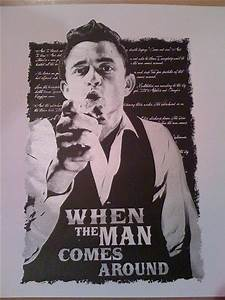 Johnny Cash Poster : johnny cash poster flickr photo sharing ~ Buech-reservation.com Haus und Dekorationen