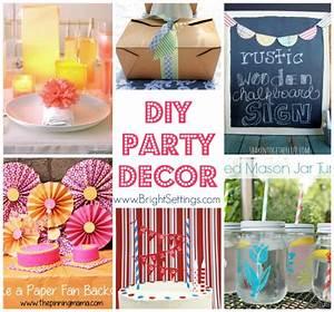 DIY Party Decor - The Bright Ideas Blog