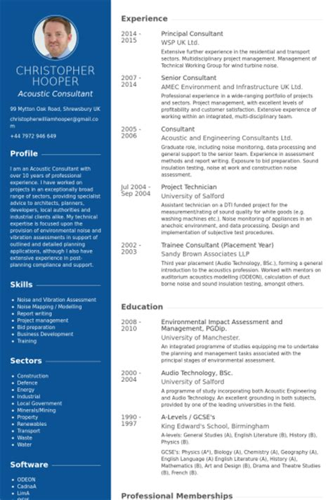it infrastructure consultant resume principal consultant resume sles visualcv resume sles database