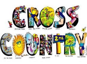 Cross Country Clip Art Designs